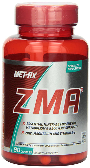 [Pack of 2] MET-Rx® ZMA, 90 Capsules Each