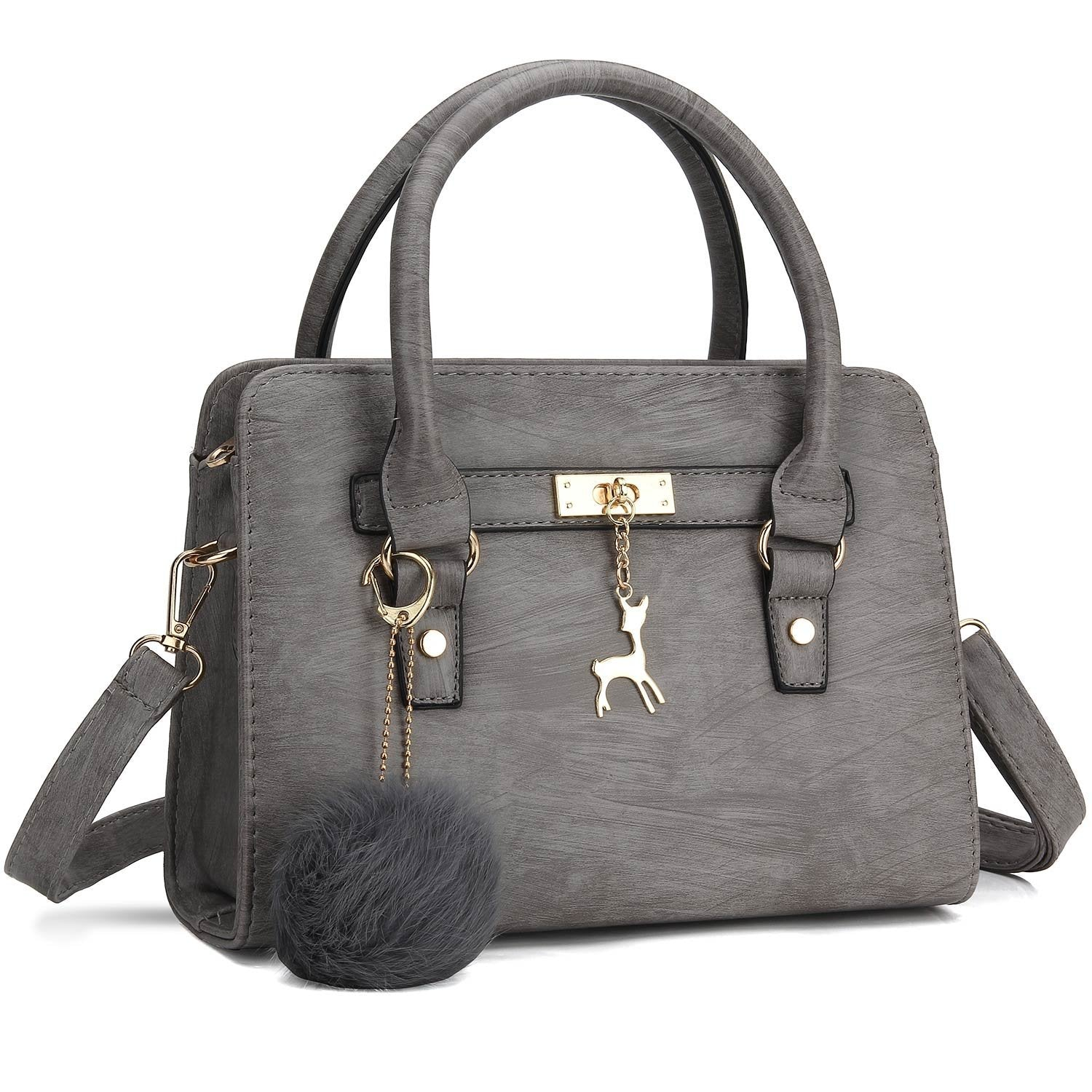 922a06ffd7eb ... Bagerly Women Fashion PU Leather Purses and Handbags Shoulder Bags Top-Handle  Satchel Tote Bag ...