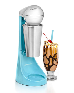 Nostalgia MLKS100BL Two-Speed Milkshake Maker