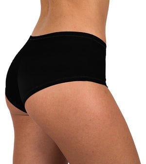 Sexy Womens 12 Pack Grab Bag Cotton Spandex Boyshort Briefs, Colors May Vary