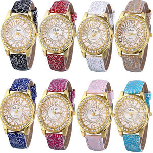 8 Assorted Pack Women Men Watches Summer Leather Jelly Dress Lines