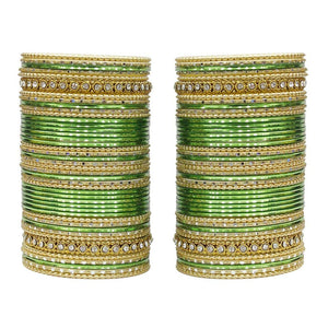 MUCH-MORE 86 Bangles Set of Multi Colour Amazing Collection of Bangles Set for Womens