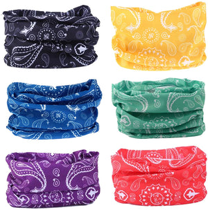Outdoor Wide Headband,Elastic Seamless Scarf UV Resistence Sport Headwear for Men&Women,Workout,Yoga,Multi Function,Constructed with High Performance Moisture Wicking Microfiber