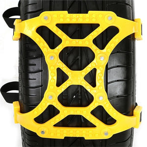 3 PCS/Pack Universal Thickened TPU Car Tire Anti-skid Chain Emergency Tire Anti-skid Belt For Winter Snow Road