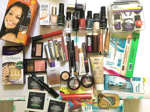 50 Piece Wholesale Makeup Assorted Lot ~ L'oreal Maybelline Covergirl Sally Hansen...