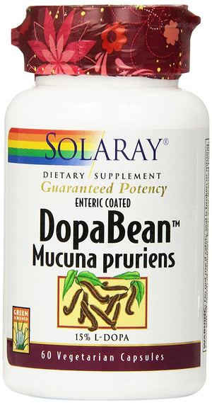 [Pack of 2] Solaray Dopabean, 333 mg, 60 Count Each