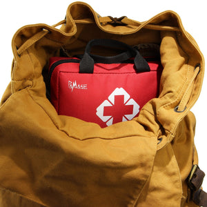 First Aid Medical Kit for Survival(123 PCS) - Emergencies Lightweight Compact Bag for Car,Home,Office,Sports,Travel,Hiking