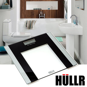 Digital Bathroom Body Weight Scale, Tempered Glass with Step On Technology, 400 lb Capacity
