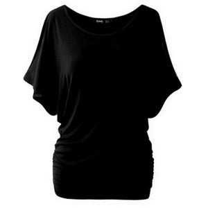 S-5XL Summer Women Casual Tops Off Shoulder Fashion Female T Shirt Plus Size Blouse