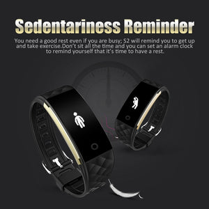 Diggro S2 Smart Heart Rate Bracelet Sports Fitness Tracker Sleep Quality Monitor Call/Notification reminder IP67 Waterproof for