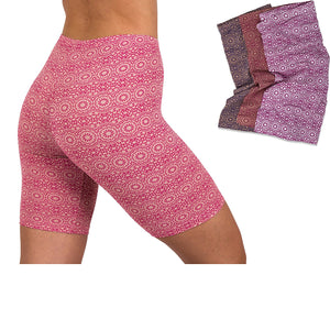Sexy Womens 3 Pack Active Dance Running Yoga Bike - Boy Short Boxer Briefs