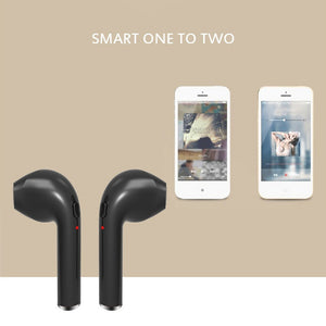 1 Pair Bluetooth 4.1 Wireless Bluetooth Headset In-ear Stereo Ear Buds Headset Earphone
