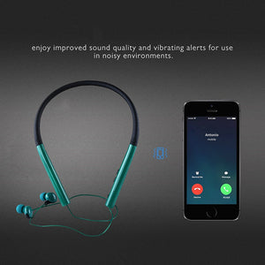 Fashion Gadget In-ear Neckband Wireless Bluetooth V4.2 Headphones with Built-in Microphone for Smartphones
