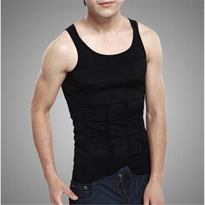 WM Men Body Slimming Tummy Shaper Belly Underwear shapewear Waist Girdle Shirt