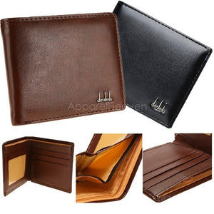 Men's Synthetic Leather Wallet Money Pockets Credit/ID Cards Holder Purse 2 Colors AP