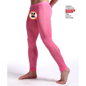 Thin Ice Silk Super Elastic Fitness Pants of The Cultivate One's Morality Warm Pants Leggings Pants
