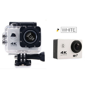 Jesiya  4K Ultra HD Sports Action Camera 30M Waterproof WIFI 170 Degree Wide Lens H.264 Sports DVR Diving Camcorder 2 inch Scree