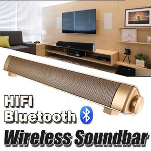 Fashion Strong Super Bass Sound Bar TV Wireless Bluetooth Speaker Home TV Theater Soundbar with Subwoofer