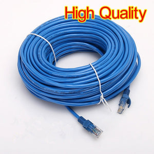 CAT5E Ethernet Internet RJ45 LAN Cable Cord Wire Male Connector Reticle