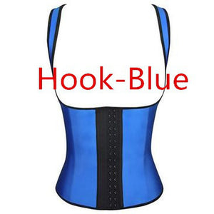 Women Sweat Enhancing Waist Training Corset Waist Trainer Sauna Suit Hot Shaper Sport Vest