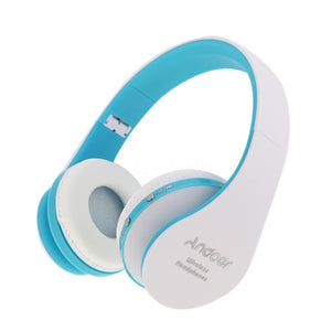Foldable Wireless Bluetooth Stereo Bass Headphone w/Mic for iPhone Handfree 4T6M