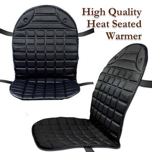 Universal Car Heated Seat Cover Cushion Heater Winter Hot Warmer Pad Cover 12V