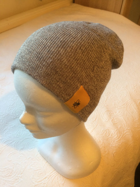 Grey Beanie Hat Simply Bee