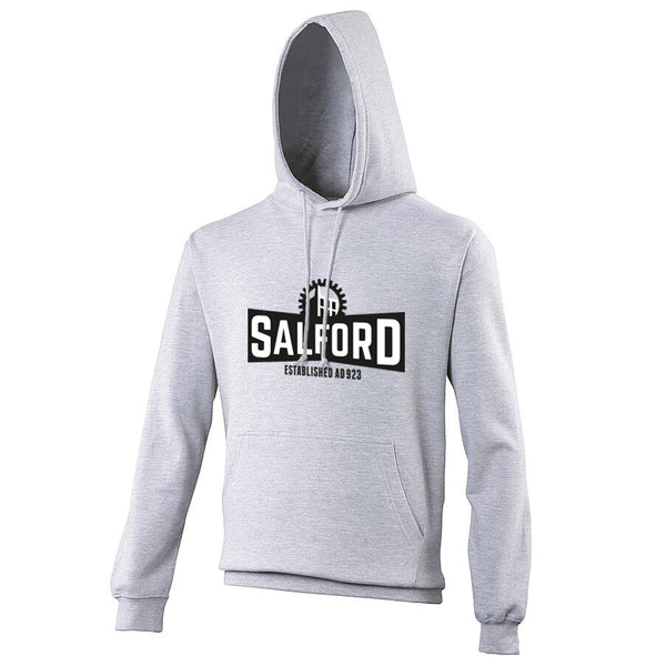 Heather Grey Hoodie (Salford)