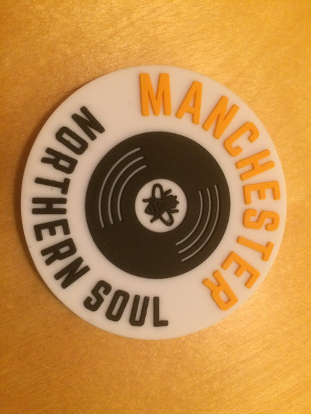 White Fridge Magnet Northern Soul