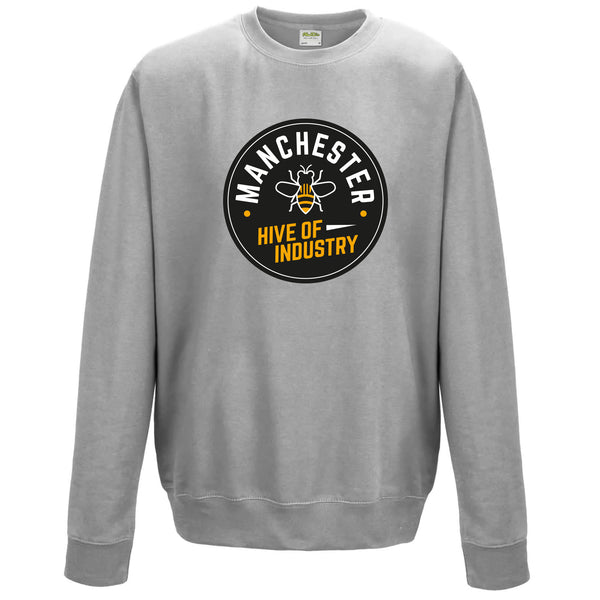 Heather Grey Sweatshirt (Cog Round)