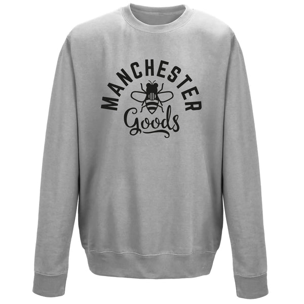 Heather Grey Sweatshirt (Manchester Goods)