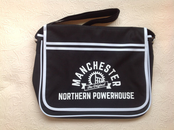 Black Shoulder Bag Northern Powerhouse