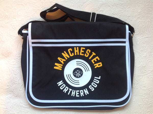 Black Shoulder Bag Northern Soul
