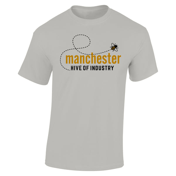 Heather Grey T-Shirt (Buzz Bee)