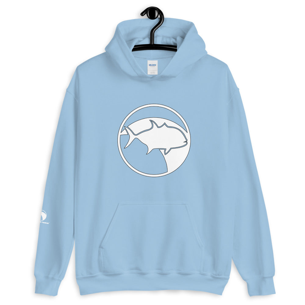 Sudadera GT BlackFin Tackle logo blanco