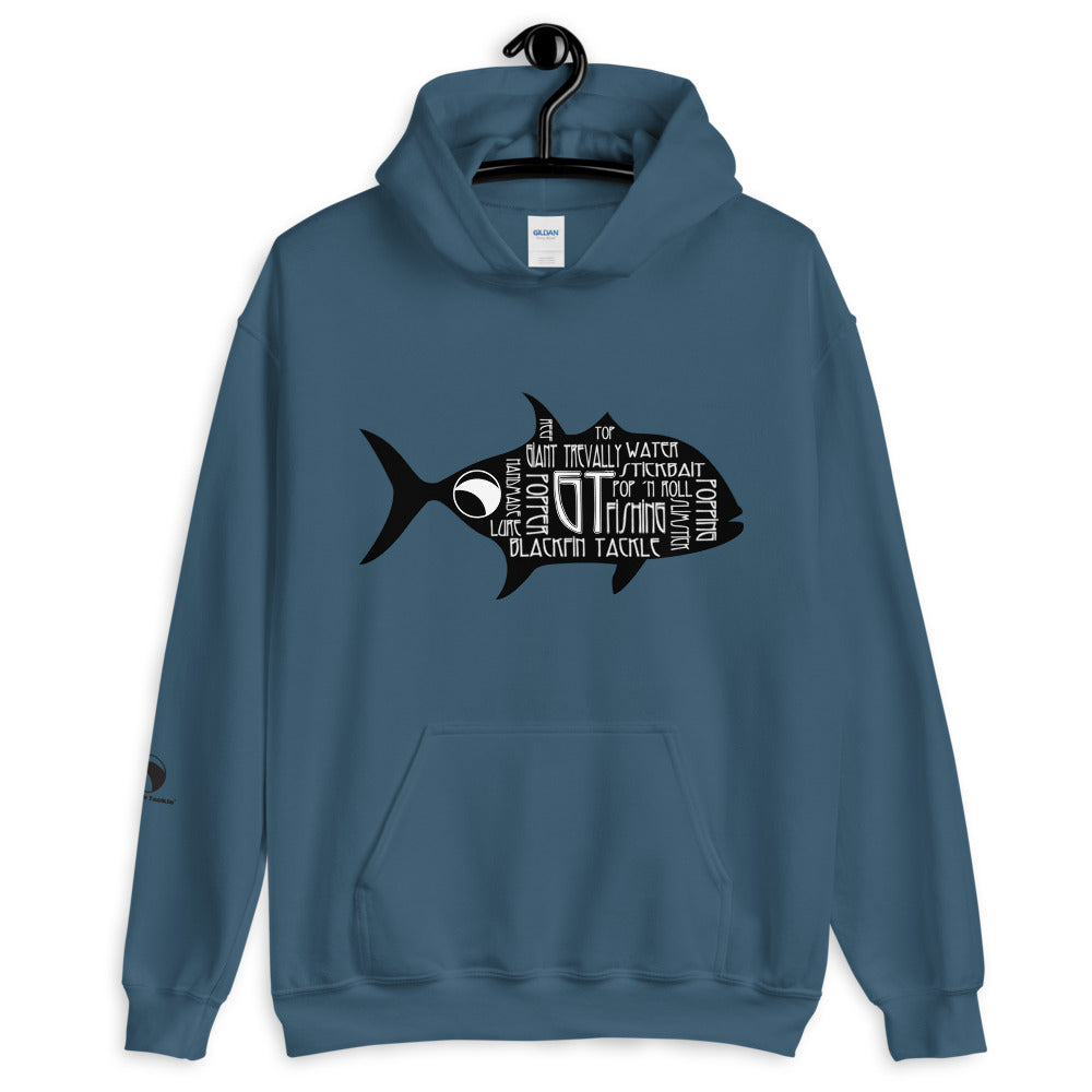 Sudadera BlackFin Tackle GT negro
