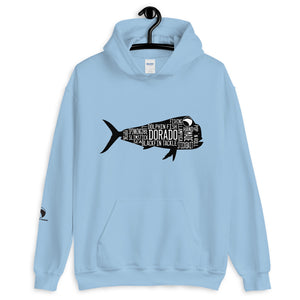 Sudadera BlackFin Tackle Dorado Negro