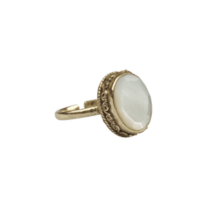À LA SANDEEP RING | MOTHER OF PEARL