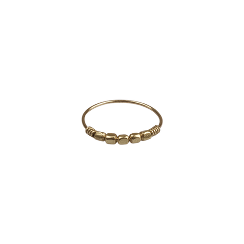À LA | BRASS STONE RING
