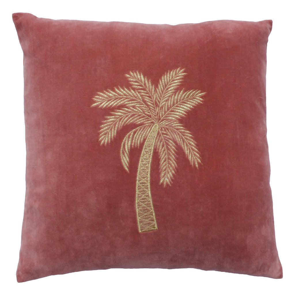 À LA VELVET CUSHION COVER - PINK