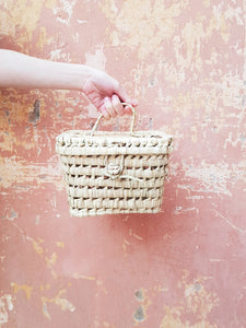 CHÂBI CHIC | PALM MINI BASKET TRUNK