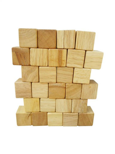 NATURAL CUBES - SET OF 100