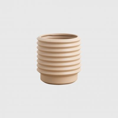 MEDIUM BERLIN PLANTER - NUDE