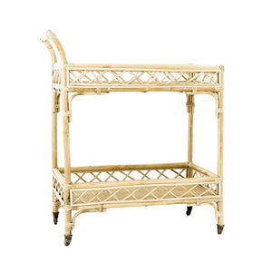 CRISS CROSS BAR CART NATURAL