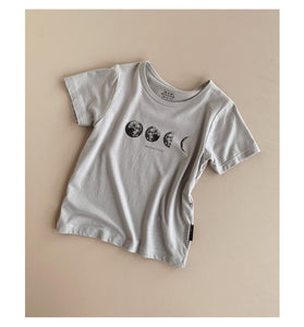 BAM LOVES BOO | MOON TEE