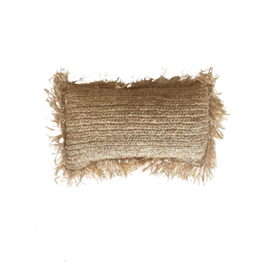 RAFFIA CUSHION COVER - LUMBAR