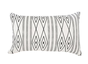 DIAMOND LINEN CUSHION | LUMBAR