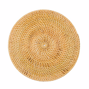 RATTAN PLACEMAT - NATURAL | PRE ORDER NOVEMBER