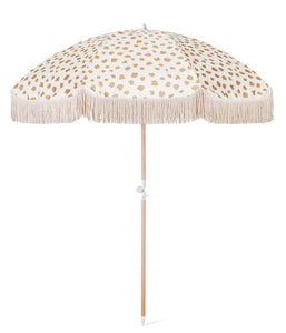 SUNDAY SUPPLY CO. GOLDEN SANDS BEACH UMBRELLA