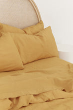 100% LINEN SHEETS | SUNFLOWER